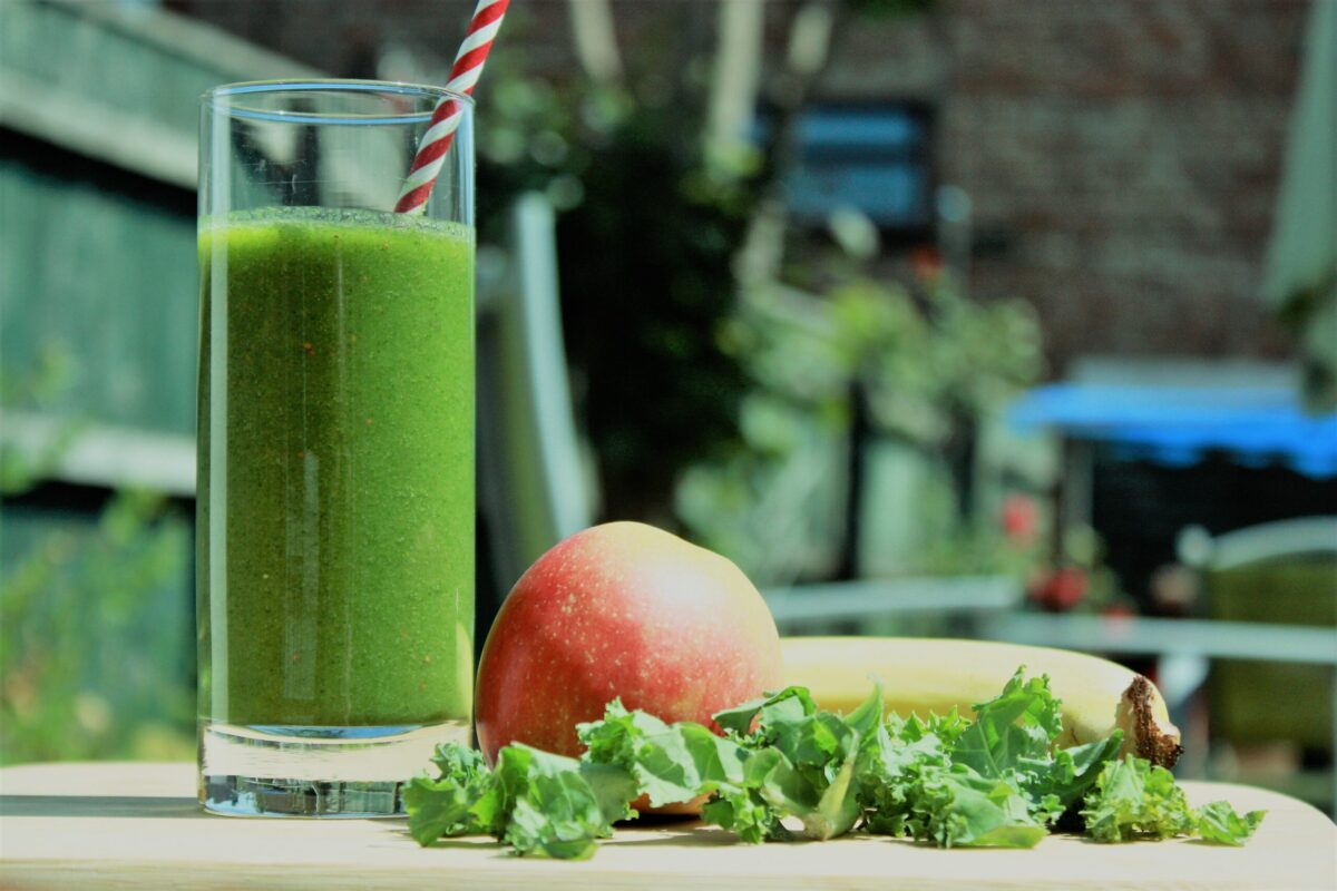 Kale Smoothie with Ginger