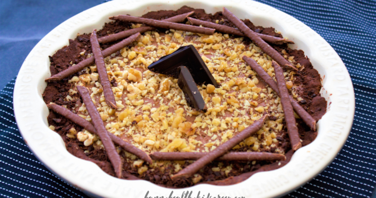 Chocolate Tart with Walnuts